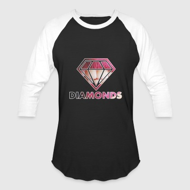 Diamonds rubin - Baseball T-Shirt