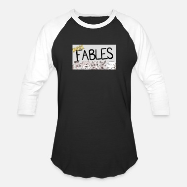Out READING MORE FABLES THEODD1SOUT - Baseball T-Shirt