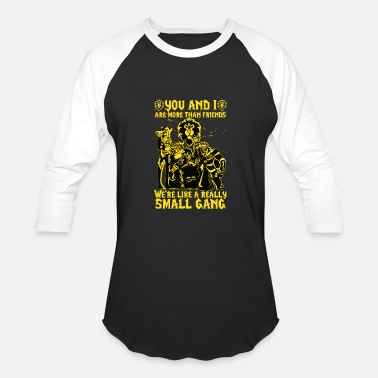 Bow Wow WoW - We're like a really Small Gang t-shirt - Baseball T-Shirt