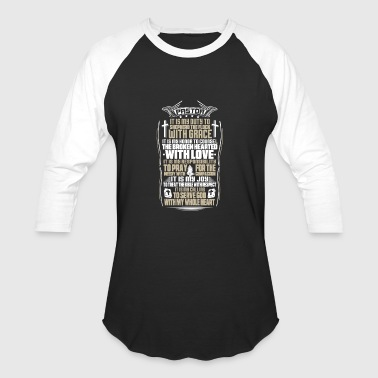 Jaco Pastor - It is my duty to shepherd the flock tee - Baseball T-Shirt