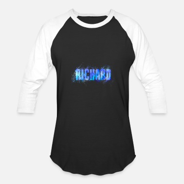 Richard Present Richard Guy Name Word - Baseball T-Shirt