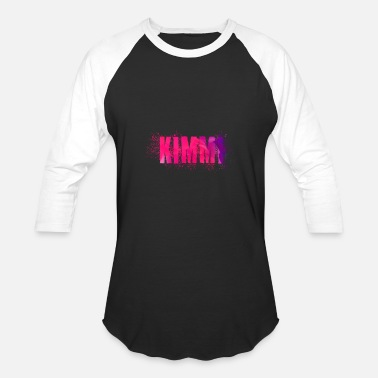 Kimmy Kimmi Name Word - Baseball T-Shirt
