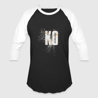 Knock Out KO Knock Out - Baseball T-Shirt