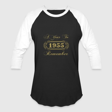 1955 A Year To Remember - Baseball T-Shirt