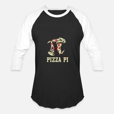 Pizza Pi Pizza Pi - Baseball T-Shirt