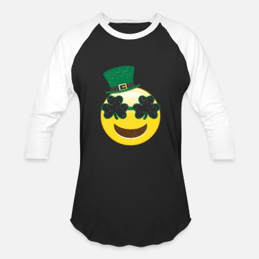 St Patricks Day Kids Smile Tshirt - Kids St Patricks Day Shirts - Baseball T-Shirt