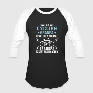 Cycling Grandpa Cycling Grandpa - Baseball T-Shirt