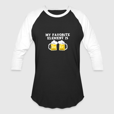 Beer Garden Jokes Element Beer Fraternity party oktoberfest alcohol - Baseball T-Shirt