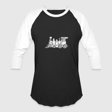 Steam Train steam train - Baseball T-Shirt
