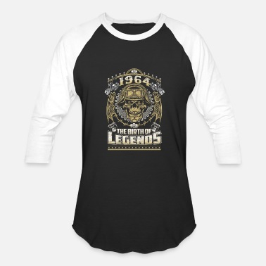 1964 The Birth Of Legends 1964 - 1964 the birth of the legends awesome tee - Baseball T-Shirt