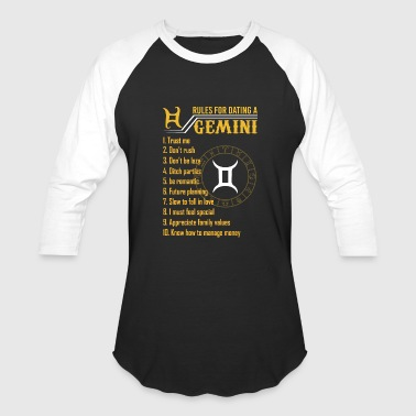 Sign Of Zodiac GEMINI FACTS *EXCLUSIVE* - Baseball T-Shirt