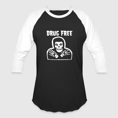 drug free - Baseball T-Shirt