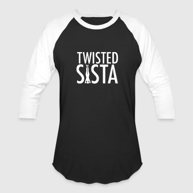 twisted sista - Baseball T-Shirt