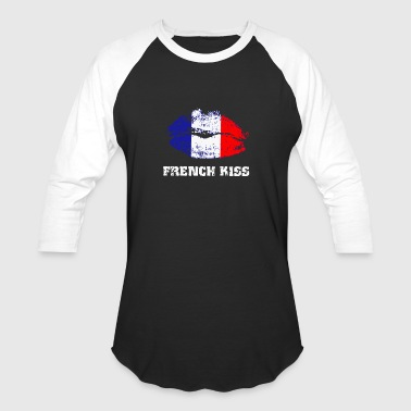 French Kiss - Baseball T-Shirt