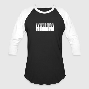 Piano - Baseball T-Shirt