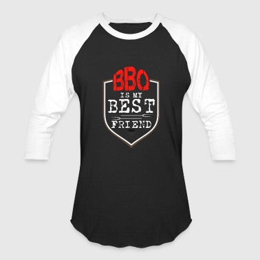 Bbq Adult barbecue bestfriend tools gift idea - Baseball T-Shirt