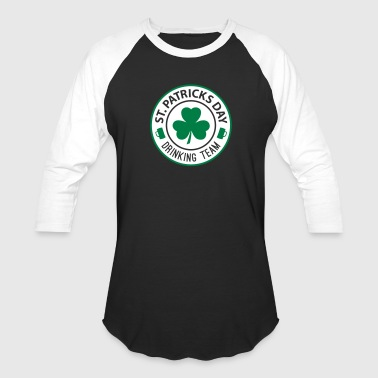 St Patricks Day Drinking - Baseball T-Shirt