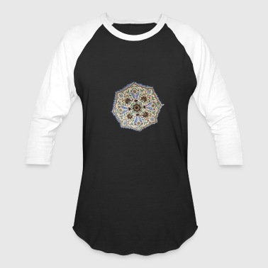 Chakra Chakra on Chest - Baseball T-Shirt