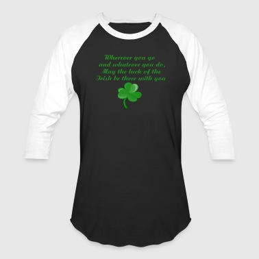 Irish Poem - Baseball T-Shirt
