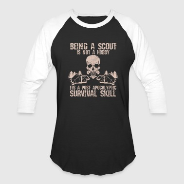 Scout Skill Scout - Survival Skill Funny Gift - Baseball T-Shirt