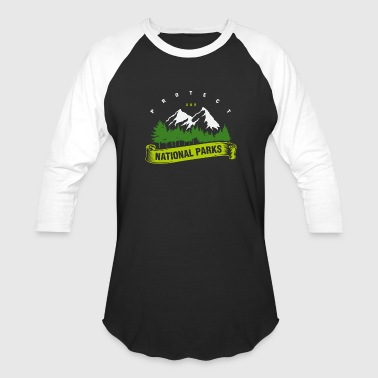 Protect Wildlife Protect Our National Parks - Nature Earth Wildlife - Baseball T-Shirt