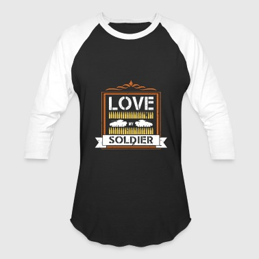 Love My Soldier Love my soldier - Baseball T-Shirt