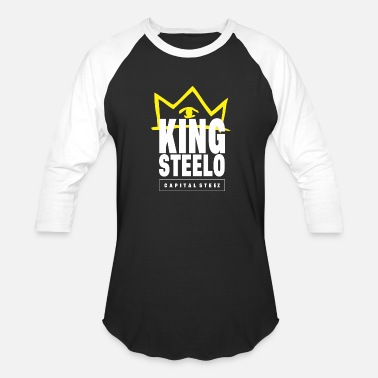 Capital Steez King Steelo Capital Steez - Baseball T-Shirt