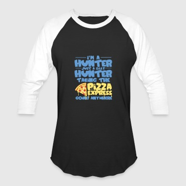 Im A Hunter Just A Silly Hunter Funny - Baseball T-Shirt
