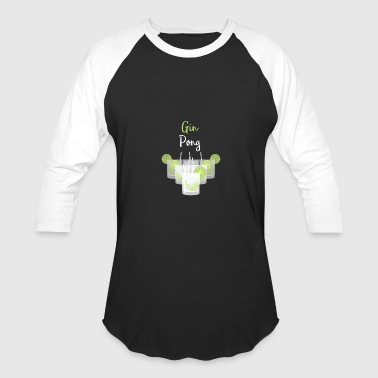 Gin Pong Party Game - Baseball T-Shirt