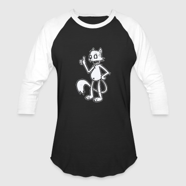 Moderne Modern Cartoon - Baseball T-Shirt
