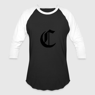 C Alfabet For Your Initials Name - Baseball T-Shirt