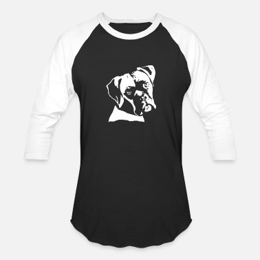 Boxer-dog boxer dog pillow - Unisex Baseball T-Shirt