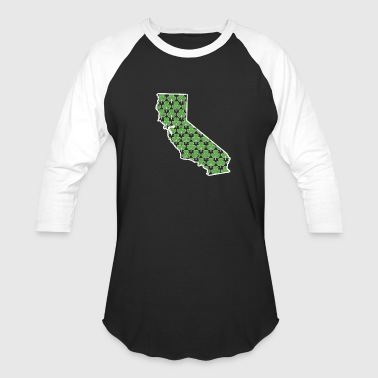 California St Mens Shamrock California St Pattys Outfit Saint Patrick - Baseball T-Shirt