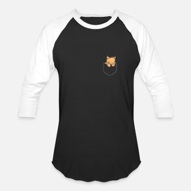 Baby Wear Cats Pocket Cat Sweet Pocket - Baseball T-Shirt