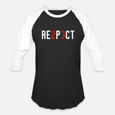 Hiphop Urban RESPECT - Baseball T-Shirt