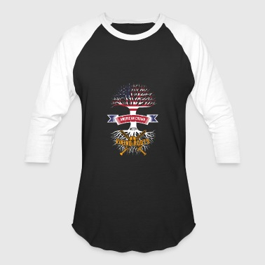 Viking American Crown Viking Roots Tshirt Present Odin - Baseball T-Shirt