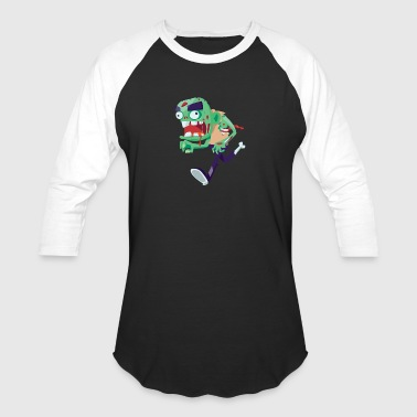 Halloween Monster - Baseball T-Shirt