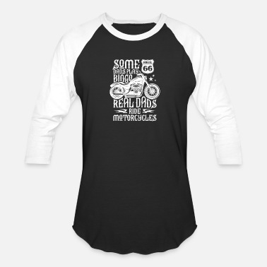 Motorcycle Dad Motorcycle Dad - Baseball T-Shirt