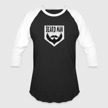 Beards Man Beard Man - Baseball T-Shirt