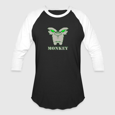 Facebook Monkey Face 2 - Baseball T-Shirt