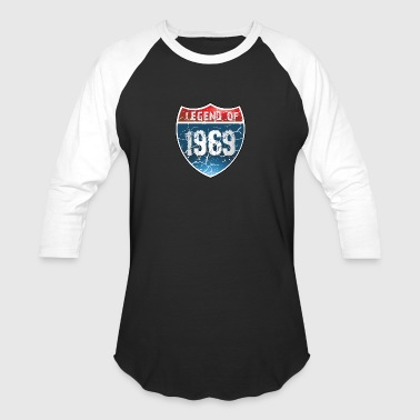 Legend 1969 Legend Of 1969 - Baseball T-Shirt