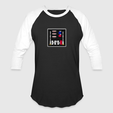 Control Panel Darth Vader Control Panel - Return of the Jedi - Baseball T-Shirt