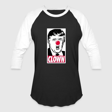Trump Clown - Baseball T-Shirt