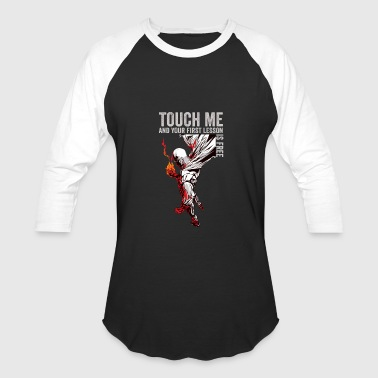 One punch man - Touch me and get free lesson - Baseball T-Shirt