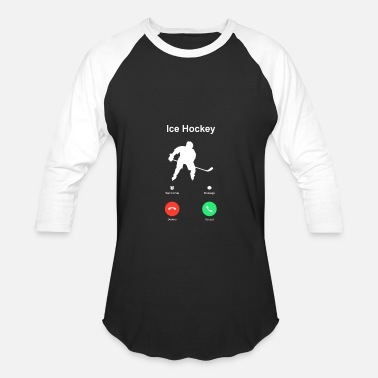 Hockey Ice_Hockey - Baseball T-Shirt