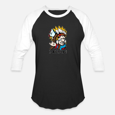Canadian Indian INDIAN - Baseball T-Shirt