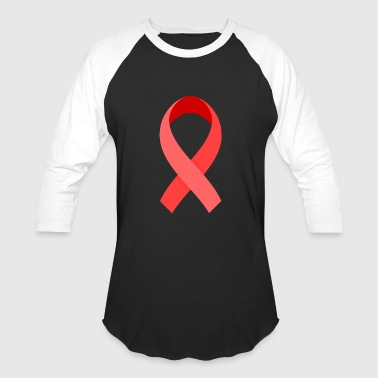 Brest Cancer red ribbon brest cancer awareness - Baseball T-Shirt