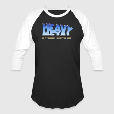 Hard Rock Sportswear HEAVY METAL - Baseball T-Shirt