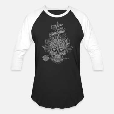 Dark Art Kill Art (Dark Shirt) - Baseball T-Shirt