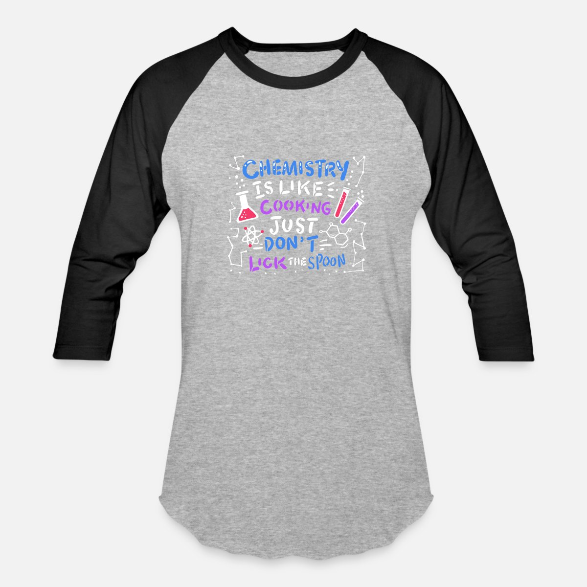 a523a518 Funny Chemistry T Shirt Design Gift Idea Unisex Baseball T Shirt